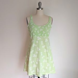 Vintage 90s Does 60s Daisy Dress